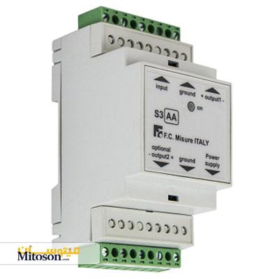 ترانسدیوسر جریان AC میزوره مدل استاندارد S3AA1ST1