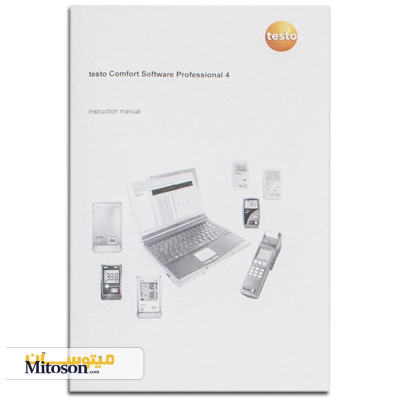 دفترچه راهنما ترمومتر چند کاناله تستو مدل 2-735